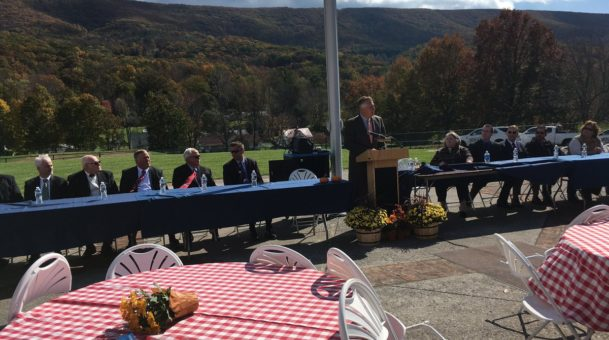 Bath County school becomes first 100% solar powered school in Virginia