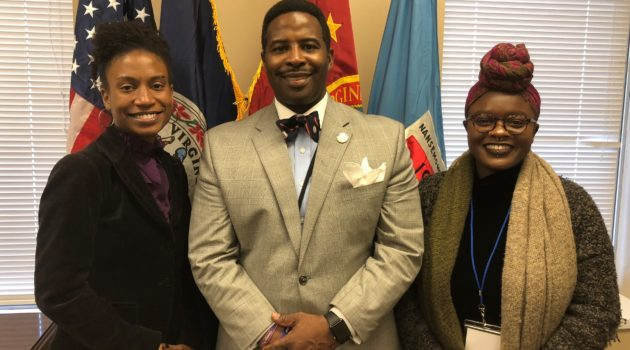 South Hampton Roads Chapter Leaders Visit General Assembly