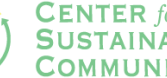 Center for Sustainable Communities